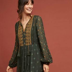 EUC Anthropologie, Amina dress by Akemi + Kin S